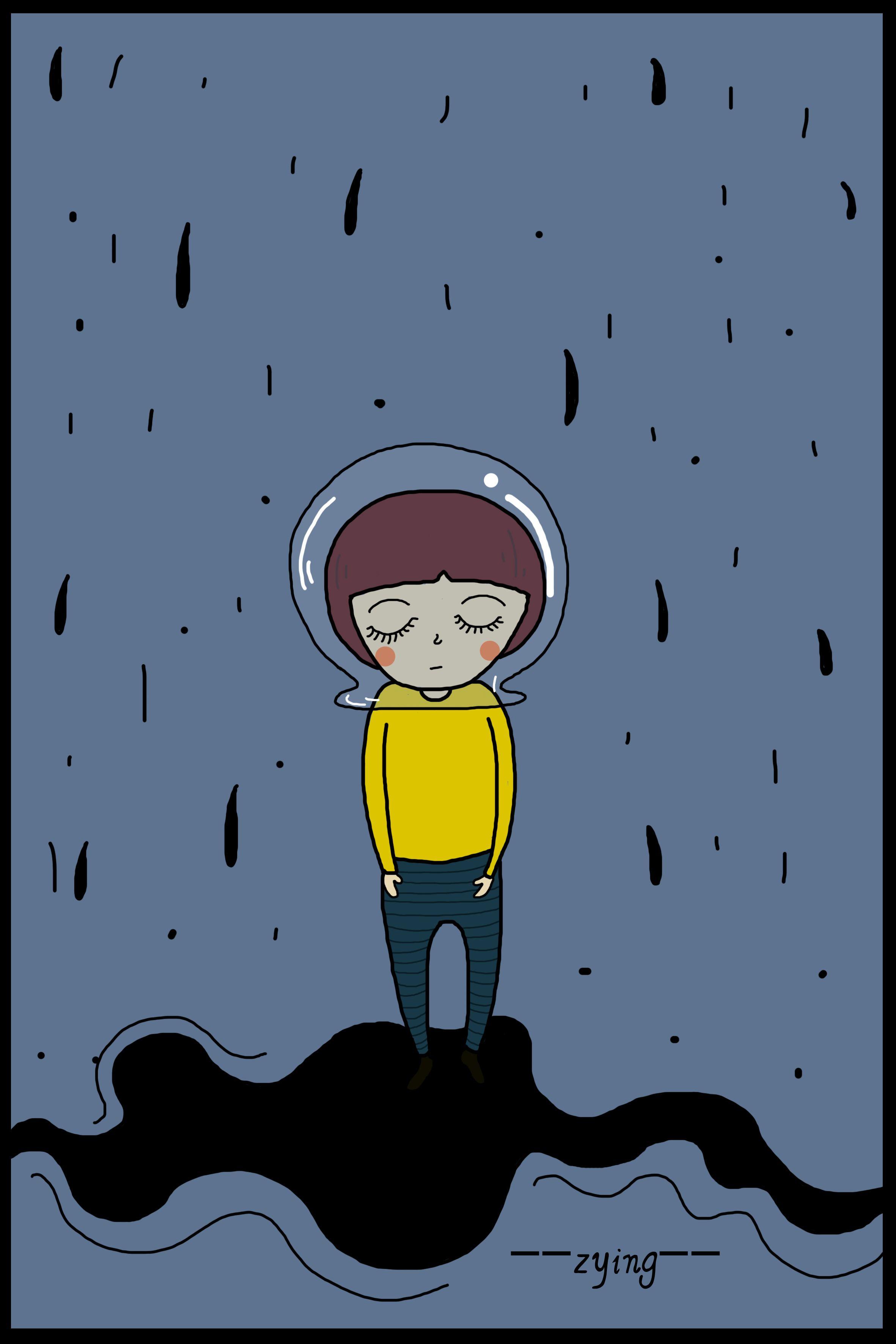 雨再大又怎样,我有了你——除湿机