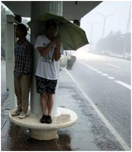 珠海暴雨上热搜了,那边的小伙伴们你们还好吗?